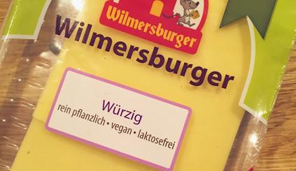 Veganer Käseersatz von Wilmersburger