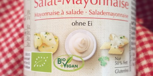 Vegane Mayonnaise ohne Ei