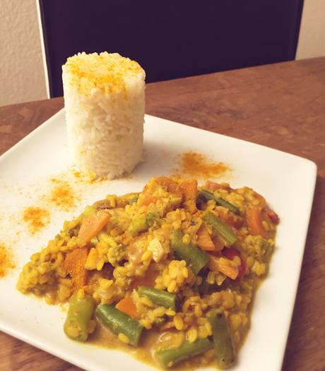 Veganes Rezept aus Linsen - indisches Dal