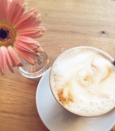 Kaffeemilchschaum vegan