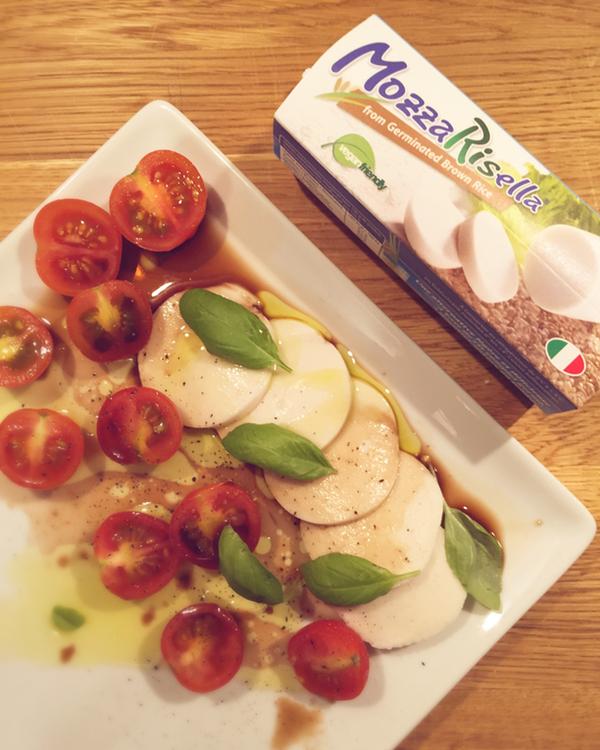 Veganer Morzarella Ersatz aus Reis