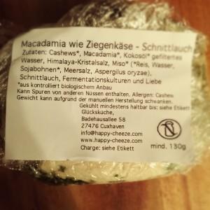 Zutaten für veganen Käseersatz