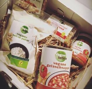 Vegane Probierbox von veganleben