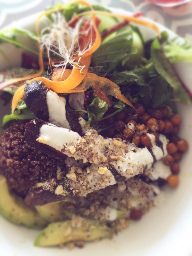 The Bowl Berlin mit veganteller
