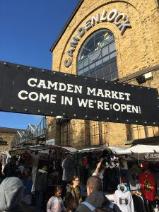 Camden Market London vegan