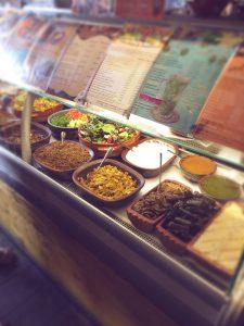My Village Cafe Bar veganteller