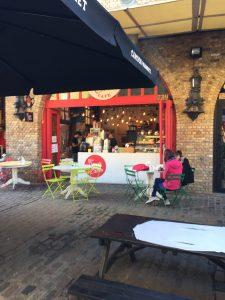 Camden Market London vegan